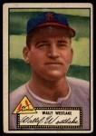 1952 Topps #38 BLK Wally Westlake  Front Thumbnail