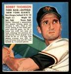 1952 Red Man #24 NLx Bobby Thomson  Front Thumbnail