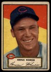 1952 Topps #80 BLK Herm Wehmeier  Front Thumbnail