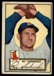 1952 Topps #43 BLK Ray Scarborough  Front Thumbnail