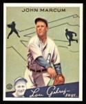 1934 Goudey Reprints #69  John Marcum  Front Thumbnail