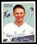 1934 Goudey Reprints #26  Gerald Walker  Front Thumbnail
