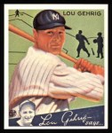 1934 Goudey Reprints #61  Lou Gehrig  Front Thumbnail
