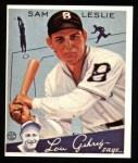 1934 Goudey Reprints #49  Sam Leslie  Front Thumbnail