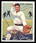 1934 Goudey Reprints #58  Earl Grace  Front Thumbnail