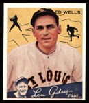 1934 Goudey Reprints #73  Ed Wells  Front Thumbnail
