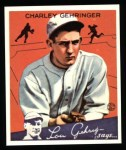 1934 Goudey Reprints #23  Charley Gehringer  Front Thumbnail
