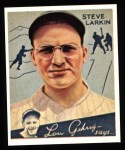 1934 Goudey Reprints #92  Steve Larkin  Front Thumbnail