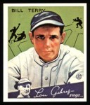 1934 Goudey Reprints #21  Bill Terry  Front Thumbnail