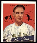 1934 Goudey Reprints #57  Bill Swift  Front Thumbnail