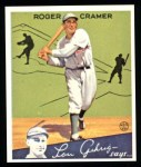 1934 Goudey Reprints #25  Roger Cramer  Front Thumbnail