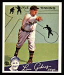1934 Goudey Reprints #71  Lyle Tinning  Front Thumbnail