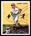 1934 Goudey Reprints #1  Jimmie Foxx  Front Thumbnail