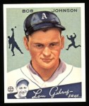 1934 Goudey Reprints #68  Bob Johnson  Front Thumbnail