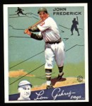1934 Goudey Reprints #47  John Frederick  Front Thumbnail