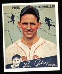 1934 Goudey Reprints #93  Fred Ostermueller  Front Thumbnail