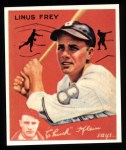1934 Goudey Reprints #89  Linus Frey  Front Thumbnail