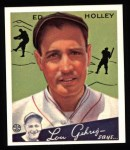 1934 Goudey Reprints #55  Ed Holley  Front Thumbnail