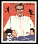1934 Goudey Reprints #12  Carl Hubbell  Front Thumbnail