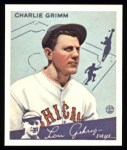 1934 Goudey Reprints #3  Charlie Grimm  Front Thumbnail