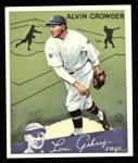 1934 Goudey Reprints #15  Alvin Crowder  Front Thumbnail