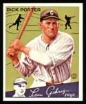 1934 Goudey Reprints #43  Dick Porter  Front Thumbnail