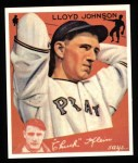 1934 Goudey Reprints #86  Lloyd Johnson  Front Thumbnail