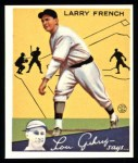 1934 Goudey Reprints #29  Larry French  Front Thumbnail