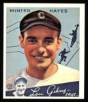 1934 Goudey Reprints #63  Minter Hayes  Front Thumbnail