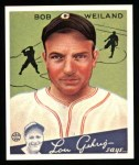 1934 Goudey Reprints #67  Bob Weiland  Front Thumbnail