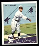 1934 Goudey Reprints #24  Ray Benge  Front Thumbnail