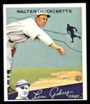 1934 Goudey Reprints #36  Walter Betts  Front Thumbnail