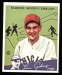 1934 Goudey Reprints #4  Woody English  Front Thumbnail