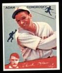1934 Goudey Reprints #85  Adam Comorosky  Front Thumbnail