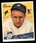 1934 Goudey Reprints #96  James DeShong  Front Thumbnail
