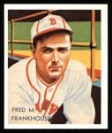 1934 Diamond Stars Reprints #62  Fred M. Frankhouse  Front Thumbnail