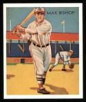 1934 Diamond Stars Reprints #6  Max Bishop  Front Thumbnail