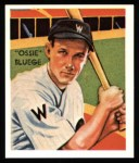 1934 Diamond Stars Reprints #71  Ossie Bluege  Front Thumbnail