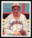 1934 Diamond Stars Reprints #36  Earnie Lombardi  Front Thumbnail