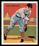 1934 Diamond Stars Reprints #5  Tommy Bridges  Front Thumbnail