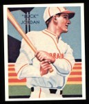 1934 Diamond Stars Reprints #49  Buck Jordan  Front Thumbnail