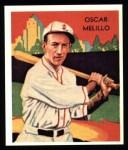 1934 Diamond Stars Reprints #53  Oscar Melillo  Front Thumbnail