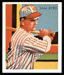 1934 Diamond Stars Reprints #84  Sam Byrd  Front Thumbnail