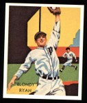 1934 Diamond Stars Reprints #40  Blondy Ryan  Front Thumbnail
