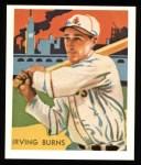 1934 Diamond Stars Reprints #75  Irving Burns  Front Thumbnail