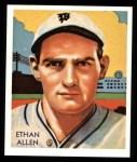 1934 Diamond Stars Reprints #92  Ethan Allen  Front Thumbnail