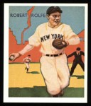 1934 Diamond Stars Reprints #104  Red Rolfe  Front Thumbnail