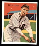 1934 Diamond Stars Reprints #43  Ted Lyons  Front Thumbnail