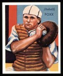 1934 Diamond Stars Reprints #64  Jimmie Foxx  Front Thumbnail