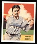 1934 Diamond Stars Reprints #42  Jimmy Dykes  Front Thumbnail